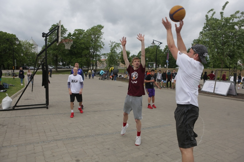 Aizvadīts Jelgavas pilsētas svētku 3x3 basketbola turnīrs
