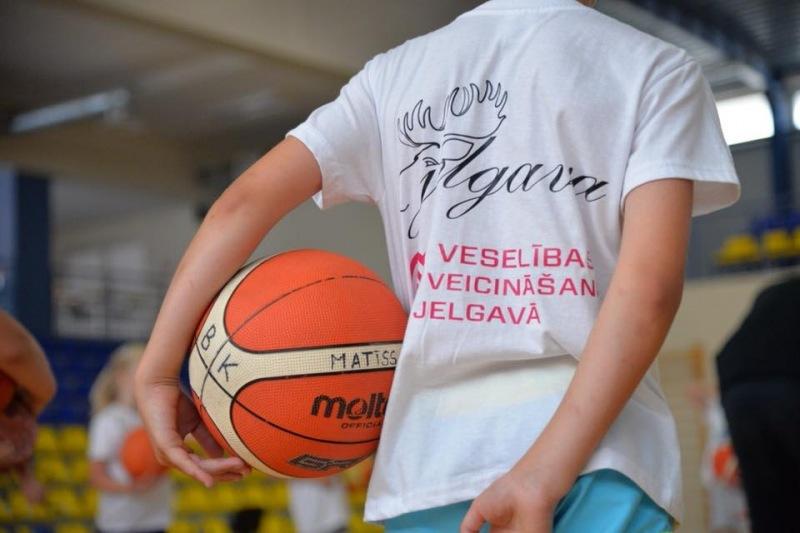 Bērnu vispārējo fizisko aktivitāšu dienas nometne ar sākuma sagatavošanu basketbolā