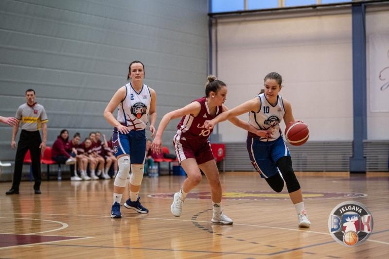 BK Jelgava|BJSS pret Latvija U16, 25.03.2021