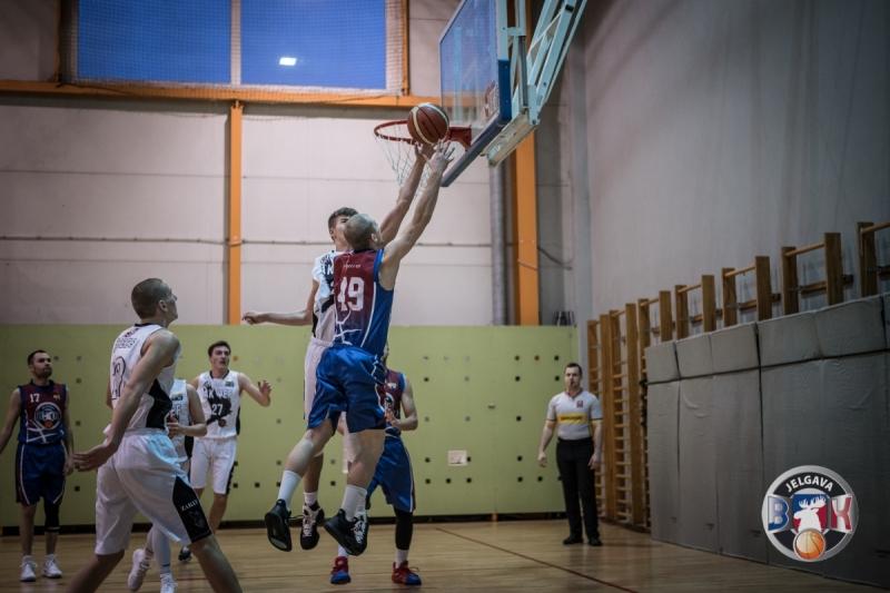 BK Jelgava|LLU pret BJBS Rīga|A.Kraukļa VEF, 12.01.2020