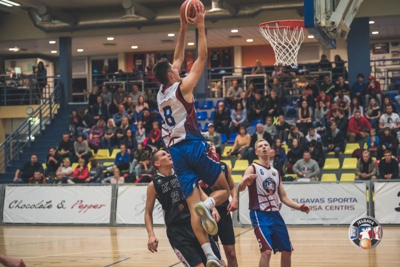 BK Jelgava|LLU pret BJBS Rīga|A.Kraukļa VEF U19, 15.10.2019