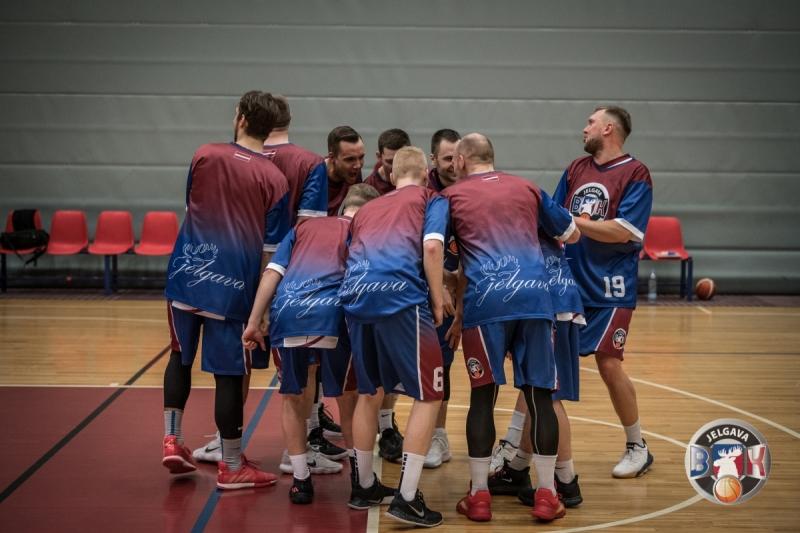 BK Jelgava|LLU pret BJBS Rīga|Sportapunkts.lv, 10.01.2020