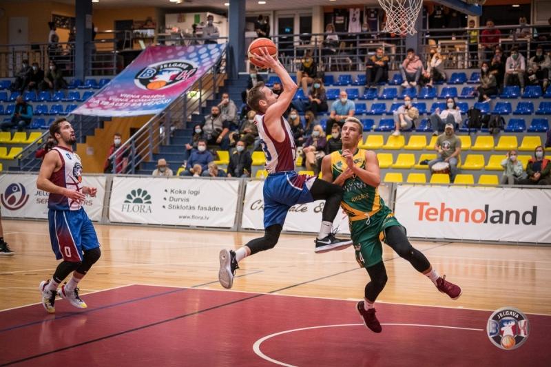 BK Jelgava|LLU pret BK Kandava|Anzāģe, 13.10.2020