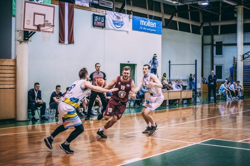 BK Jelgava|LLU pret BK Līvānu stikls, 16.11.2018