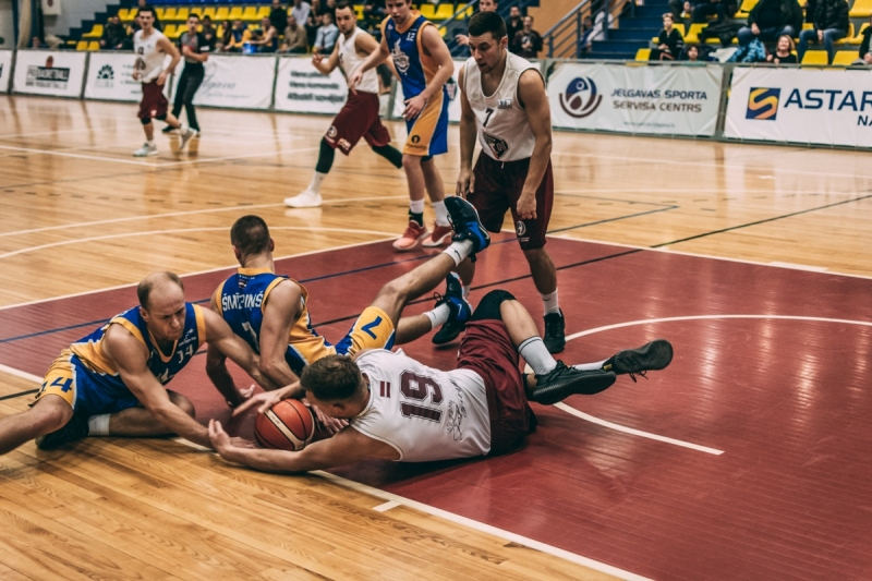 BK Jelgava|LLU pret BK Saldus, 14.12.2018