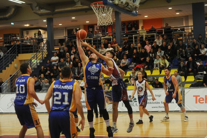 BK Jelgava|LLU pret BK Saldus| Sporta skola, 22.11.2019