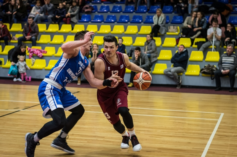 BK Jelgava|LLU pret LU|BS Rīga, 09.01.2018