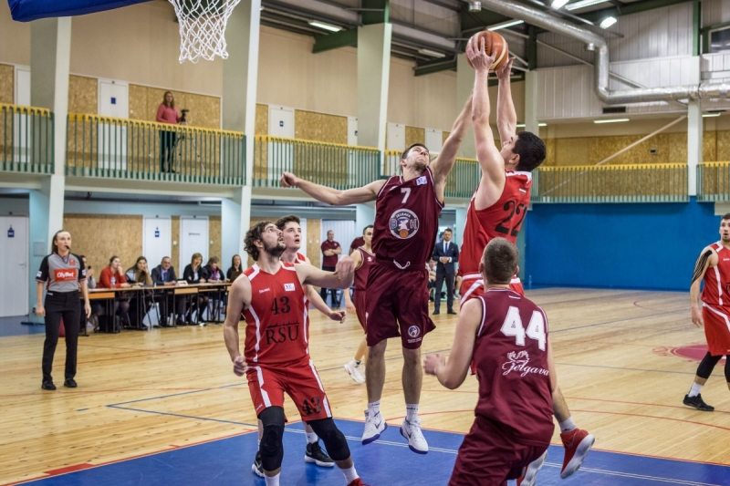 BK Jelgava|LLU pret RSU, 12.01.2018