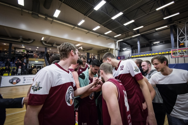 BK Jelgava|LLU pret SC Mēmele|Bauskas BJSS, 22.03.2018