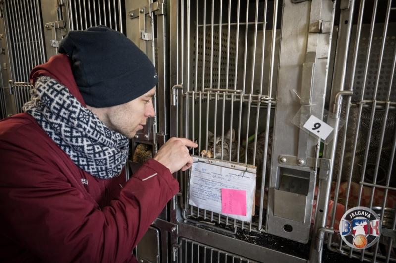 BK Jelgava|LLU viesojas Jelgavas Mazo dzīvnieku patversmē